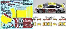 1/43 Decal Opel / Vauxhall Calibra 'Hasseröder' J.J. Lehto ITC 1996 3 Varianten