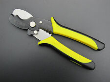 "Multi Tool 8"" Wire Stripper Cable Cutting Scissor Stripping Pliers Cutter Helper"