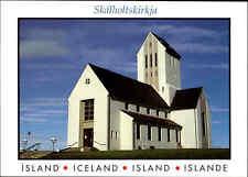 ISLAND Iceland Postkarte Postcard Skalholt Cathedral, Kirche, Skalholtskirkja AK