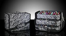 BBeautylounge Bottle bag Black & White Zebra Nail polish carry Mobile Beauty