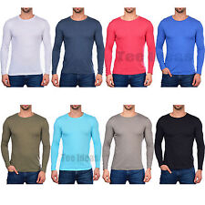 Next Level Men's Triblend Long-Sleeve Crew T-Shirt XS-2XL Sizes Tee 6071