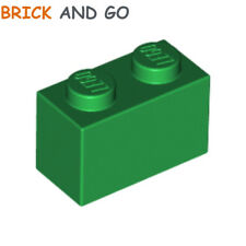 10 x LEGO 3004 Brique black NEUF NEW noir Brick 1x2