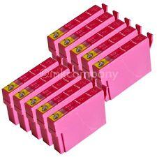 10 kompatible Tintenpatronen magenta für den Drucker Epson SX440W S22