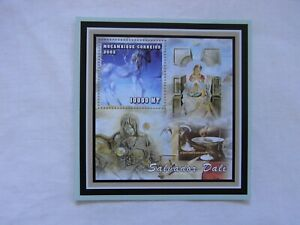 Mozambique 2002 Salvador Dali art painting minisheet MNH