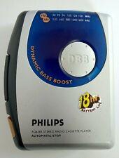 Vintage Philips Walkman AQ6581 Radio Cassette Player Working Condition Rare