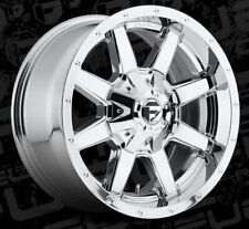 18x9 ET1 Fuel D536 Maverick 8x170 Chrome Rims (Set of 4)