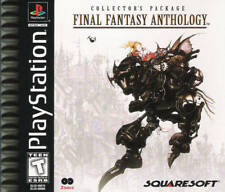 Final Fantasy Anthology - PS1 PS2 Playstation Game