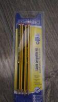 Lote 4 Lápiz de grafito Staedtler Noris HB2  fácil de borrar y fácil de afilar