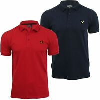 Voi Jeans Mens Fashion Polo Shirt Redford Short Sleeved