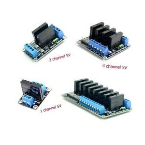 1pcs 5V 1/2/4/8 Channel  SSR G3MB-202P low level Solid Relay Module For Arduino