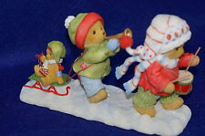Lyndell & Kinsley Join Our Holly Jolly Jamboree-SIGNED 2x's NB Cherished Teddies