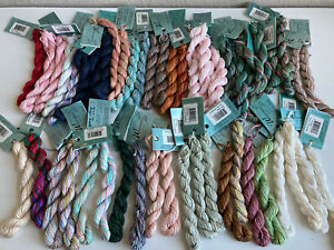 NEW - LOT 50 SKEINS WATERCOLORS BY CARON HAND PAINTED PIMA COTTON THREAD