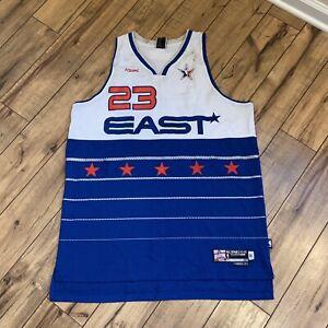 Reebok NBA Swingman 2006 All Star East LeBron James #23 MVP Jersey Mens Size XL