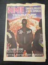New Musical Express Feat Betty Blue, Trouble Funk: 27th September 1986