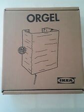 * IKEA ORGEL 400.212.70 Wall Electric Lamp asian Style Paper Shade Beige Sconces