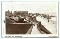Postcard Cleethorpes Pier and Promenade Lincolnshire