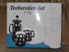 Teebereiter - Set  -- 3 tlg
