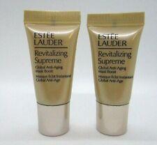 Lot/2 Estee Lauder Revitalizing Supreme Global Anti Aging Mask Boost ~ 0.24 oz