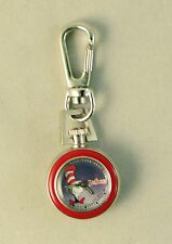 Dr Suess Cat in the Hat Watch with a Clip in Tin