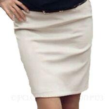 Damenröcke im A-Linien-Stil aus Baumwollmischung in 34