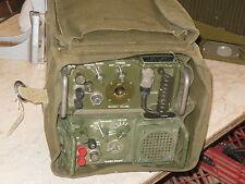 Military Radio Remote Control System Gra-39 C-2328 C-2329 & Bag