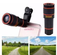 Universal 12X Zoom Lens Optical Clip Telephoto Telescope Cell Phone Camera Lens