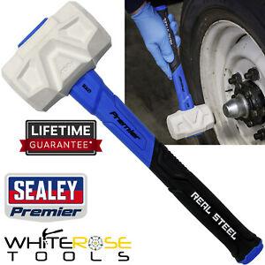 Sealey Premier Rubber Mallet with Fibreglass Shaft 16oz