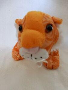 "Ganz Webkinz Beautiful Majestic Tiger 10"" Soft Plush Stuffed EXCELLENT CONDITION"