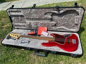Fender American USA Original '60s Jazz Bass Candy Apple Red