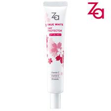 [SHISEIDO ZA] True White Day Protector Sunscreen Moisturizer CHERRY BLOSSOM NEW