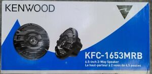 KENWOOD KFC-1653MRB MARINE SPEAKERS