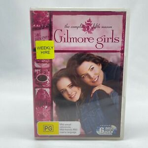 Gilmore Girls Season 5 (DVD, 2005, 6-Disc Set) Region 4 With Alexis Bledel
