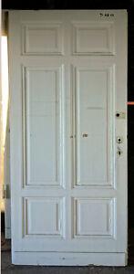 7 Gründerzeit-Türen, Türblatt, T-AH 11-15/3H;150-151/5D  ca. 90-98x212cm