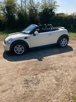 Mini Cooper Roadster convertible. 2013  Low mileage. VGC