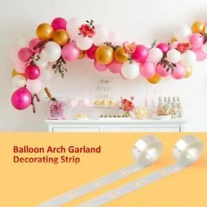 5M Balloon Arch Garland Balloon Strip Chain Party Decor Balloon Plastic Holders