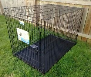 MidWest XL iCrate Folding Metal Dog Crate, Dog Kennel New Open Box 48 in