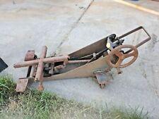 vintage Walker transmission jack unicradle shop tools  lift lift motorcycle art