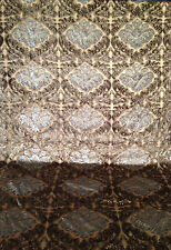 """taupe Jacquard Velvet 53"""" By the yard"""