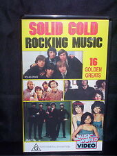 SOLID GOLD - 16 GOLDEN GREATS - VHS VIDEO