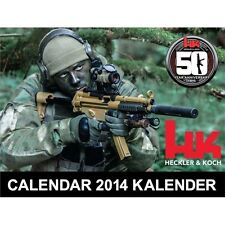 HK  H&K  Heckler & Koch 50th Anniversary 2014 Calendar 13 Month Factory Issued