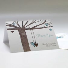 100 Heart Strings Personalized Wedding Thank You Notes