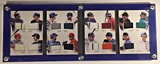 Quad-Fold Panini National Treasures 2016 Baseball Booklet Card Holder Case