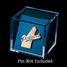 6-Pk Lapel Pin Display Cube w/Blue Insert - Great for Press Pins / Military Pins