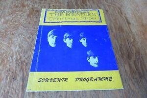 Original Brian Epstein Presents The Beatles Christmas Show Souvenir Programme