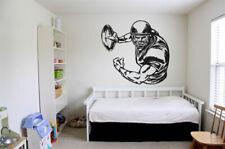 Wall Vinyl Sticker Decals Decor Room Design American Football Player bo1710