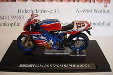 Ben Bostrom #155 DUCATI 998s Replica 2002  Topmodell  1:24