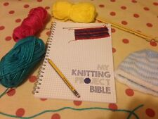 Knitting Project Bible - notebook to record/log/write upto 50 patterns