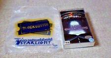 Vintage BLOCKBUSTER VIDEO STORES UK PAL VHS CARRIER BAG 2005 RARE POST CERT NEW