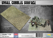 Coastal Kits  1:35 Scale Small Cobbled Surface Display Base
