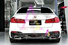 BMW new 5 series G30 - Performance style Carbon fiber rear diffuser set